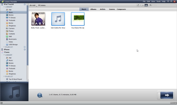 open-ipod-music-library
