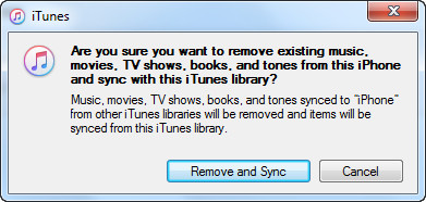 Remove and Sync