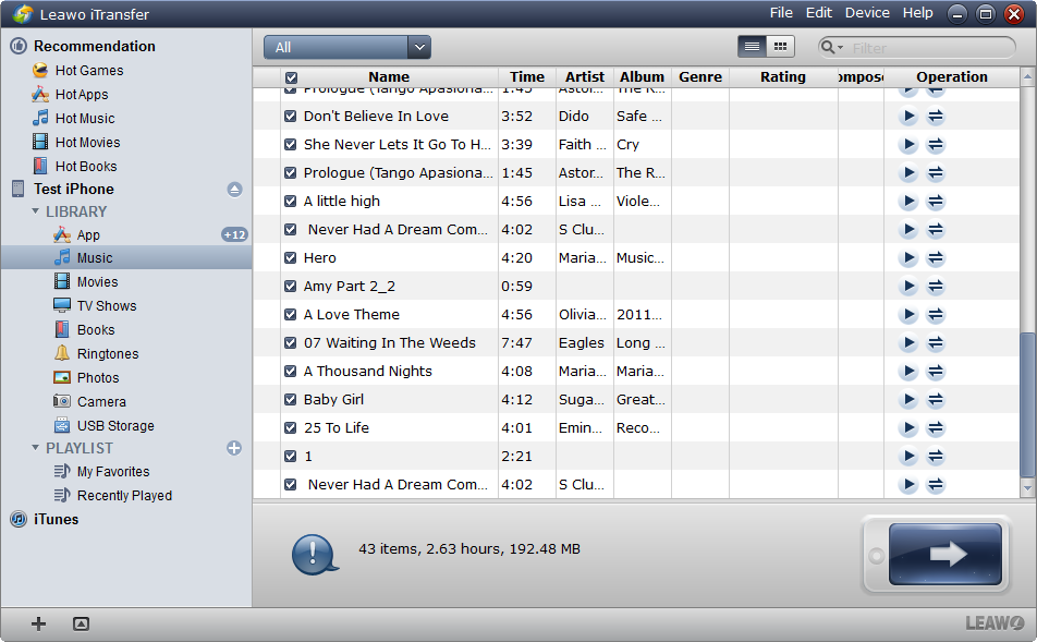 how to show my downloads on itunes from external drive