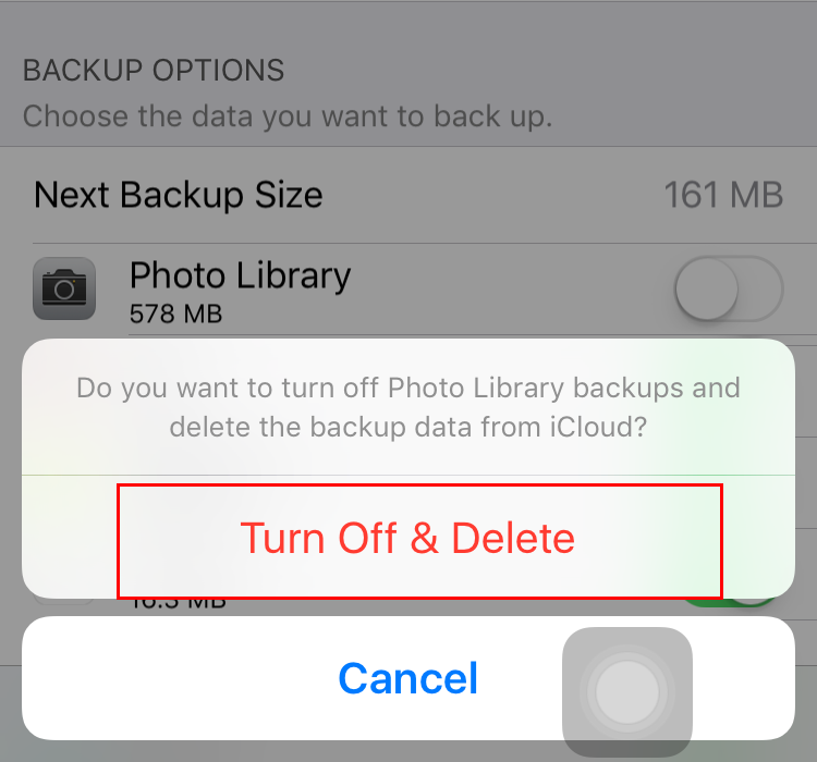 delete all photos and videos