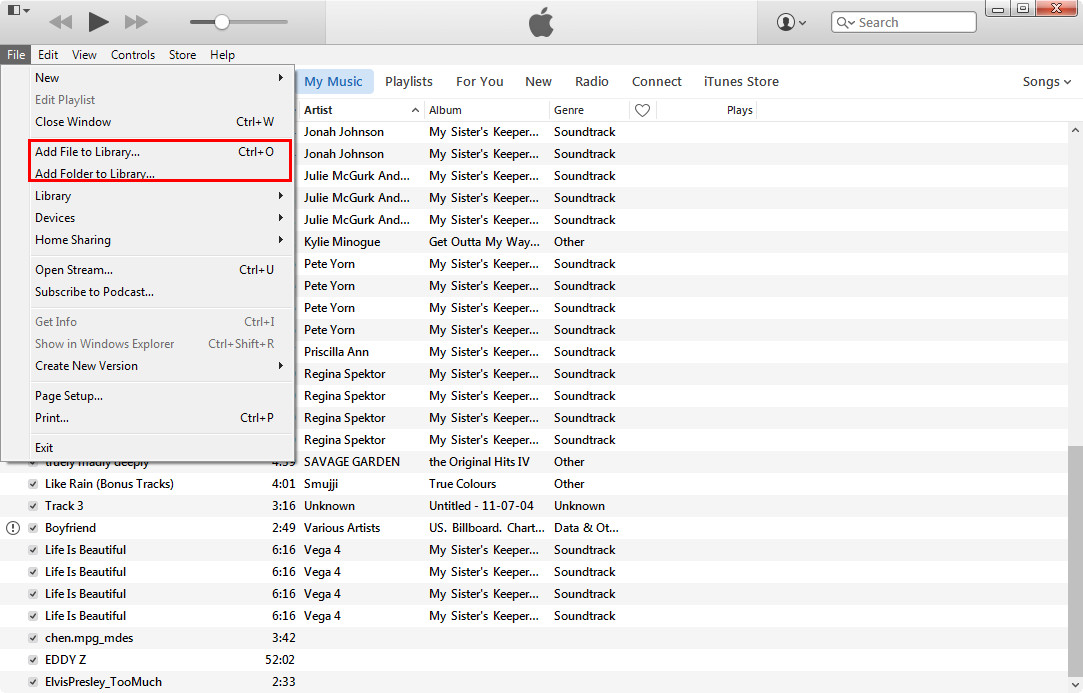 How to Transfer Music between Windows Media Player and ...