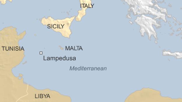 location-of-lampedusa