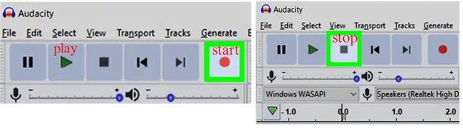 How to Record Audio from Computer with Audacity record-7