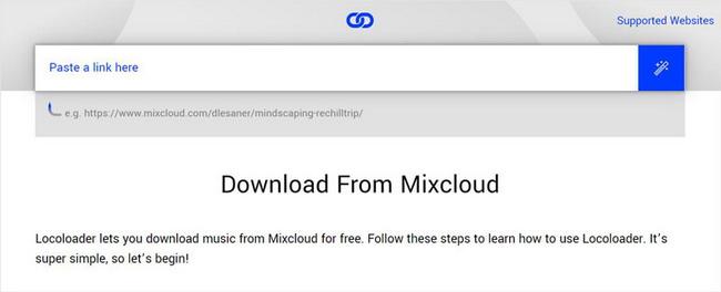locoloader-mixcloud-downloader