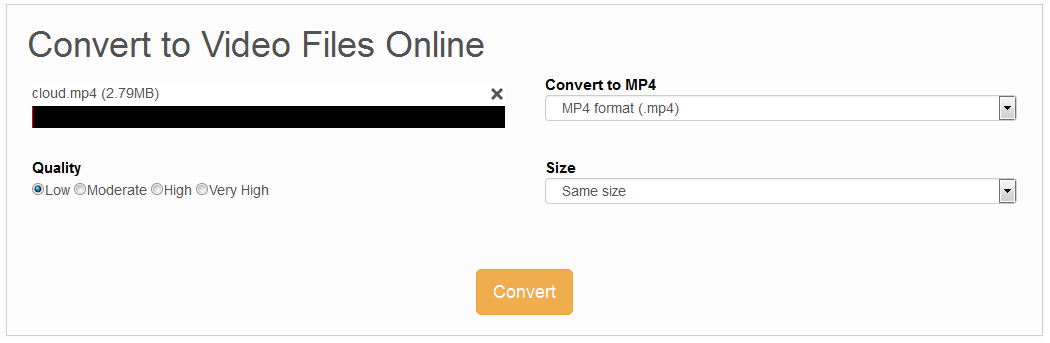 how to add mp4 to html