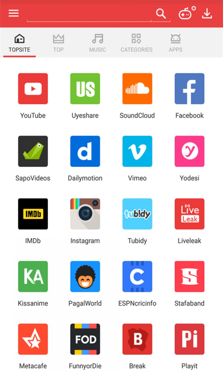 Downloader For Android