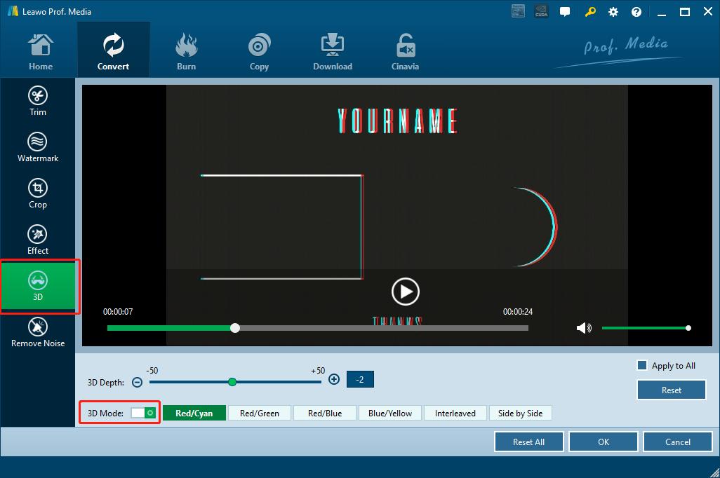 leawo-video-editor-3D-menu-09