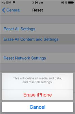 Reset-iPhone4