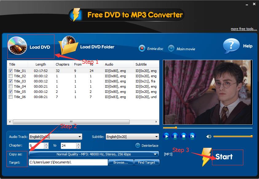 free-dvd-to-mp3-converter