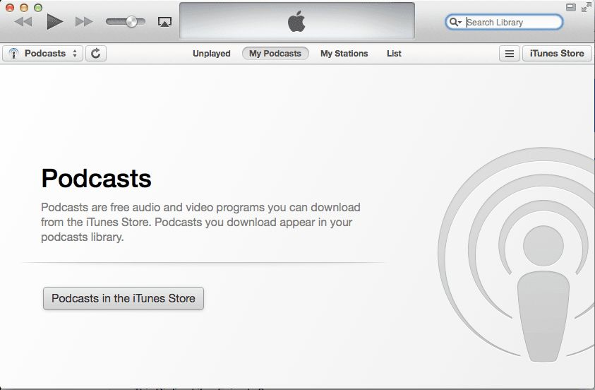 recview podcast in itunes