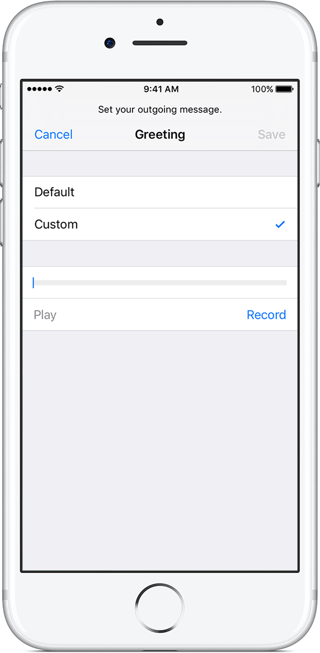 Leave voicemail without calling iphone leawo tutorial center navigate to the phone app from the home screen tap the voicemail tab on the bottom right corner of the screen tap set up now in the middle of the page kristyandbryce Choice Image