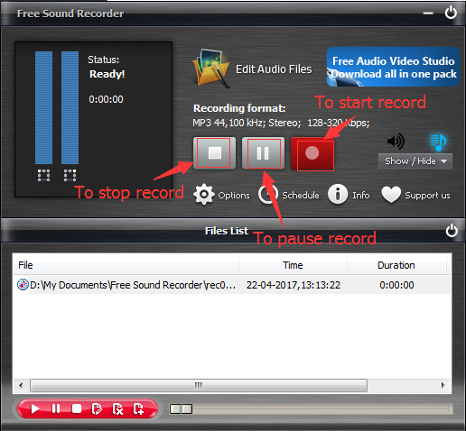 record-audios-from-mic-with-free-audio-recorder