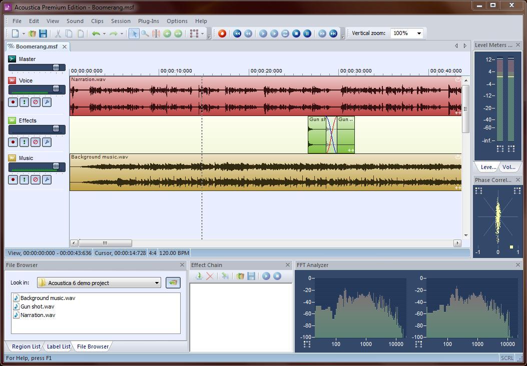 Acoustica Digital Audio Editor