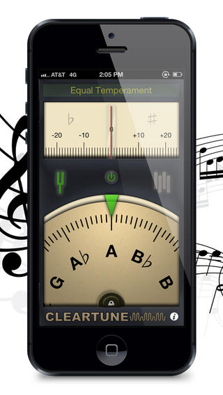 Clear Tune Chromatic Tuner