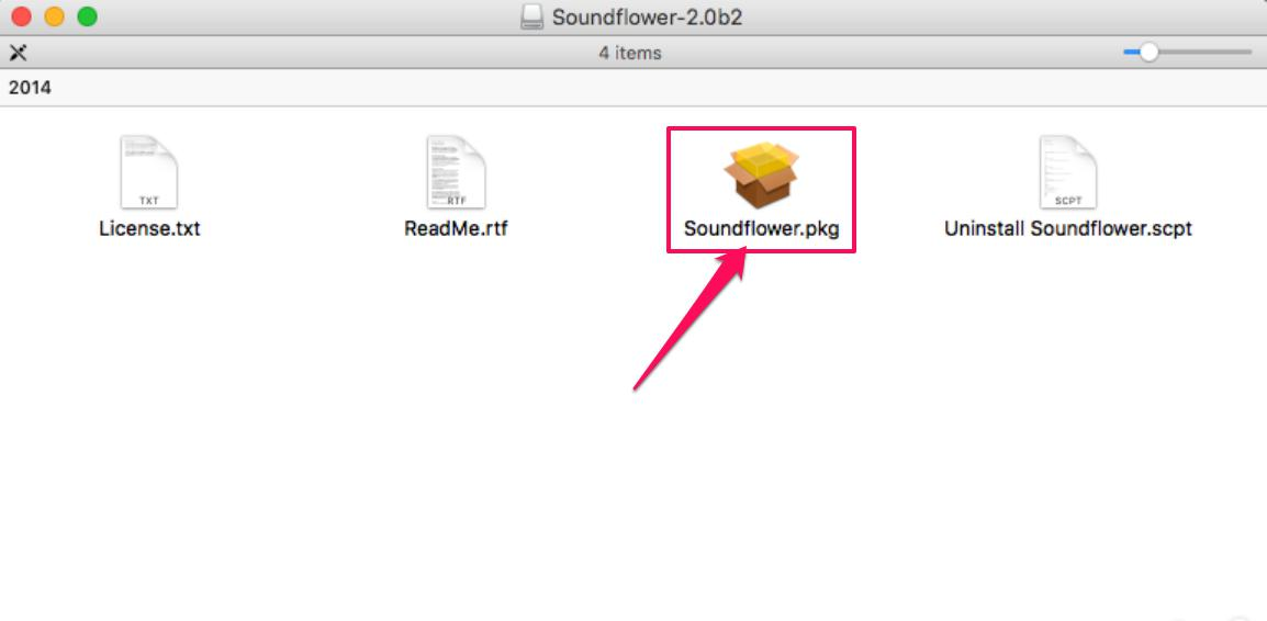 Download and install Soundflower