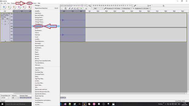 Compress audio files