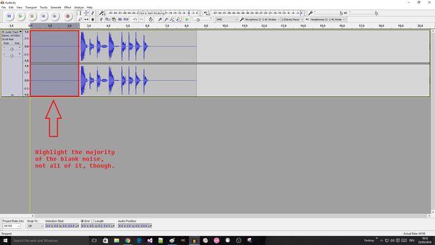 Remove Blank Audio