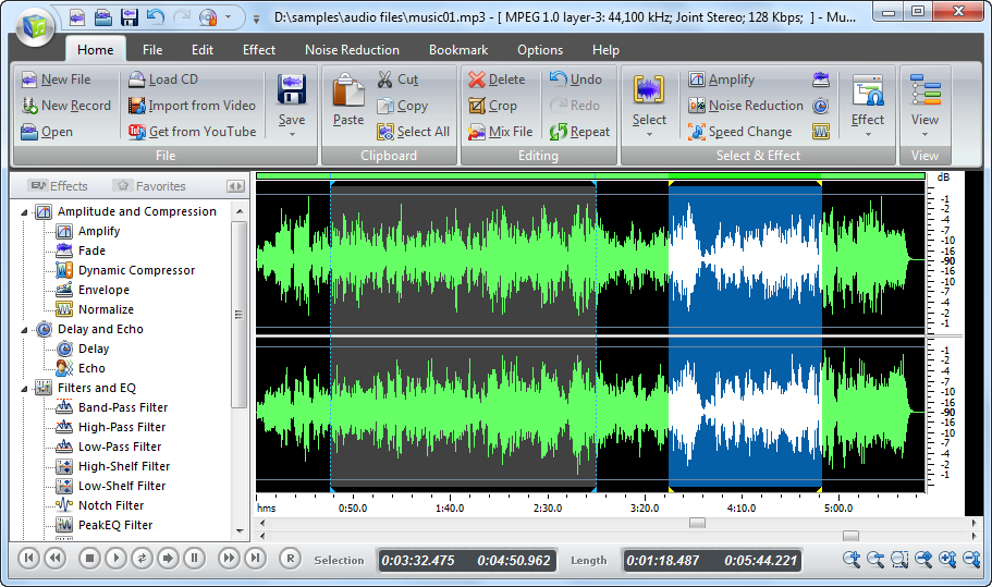 5 music editor software to edit music files leawo Free photo software