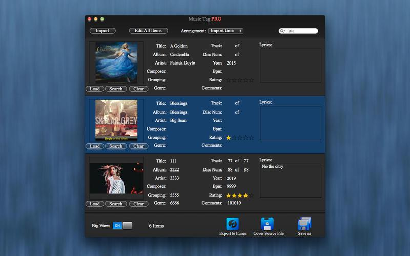 Music Tag for Mac