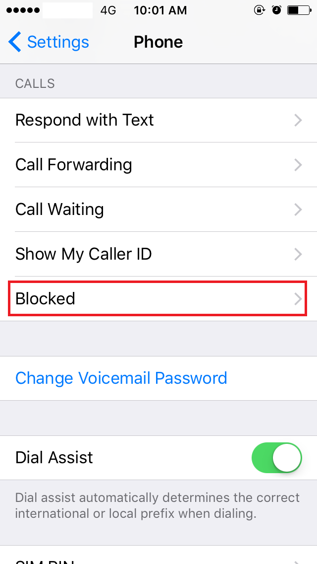 view blocked numbers iphone how to view blocked numbers on iphone 3 ways to block a 5864