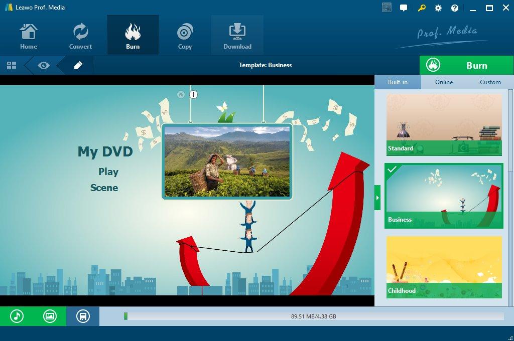 burn jpg to dvd