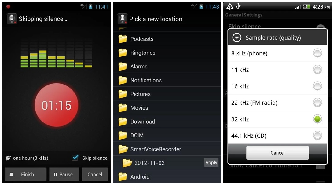 Top 7 Voice Recorder Apps for Android | Leawo Tutorial Center