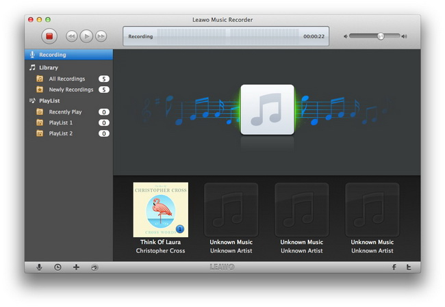 best-audio-recording-software-for-mac-Leawo-Music-Recorder
