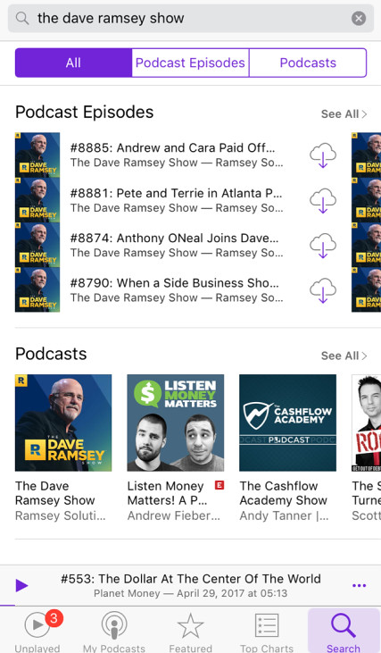 download podcasts on iphone