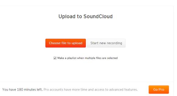 upload music to soundcloud1