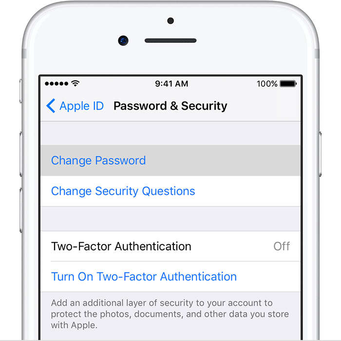 change passcode on iphone how to change icloud password leawo tutorial center 13776