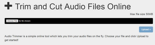 Online Audio Trimmer