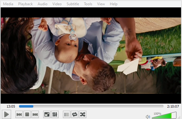 How to rotate a video to the right angle you want leawo tutorial windows media player to be specific its windows movie maker should be used for rotating a video in this case ccuart Images