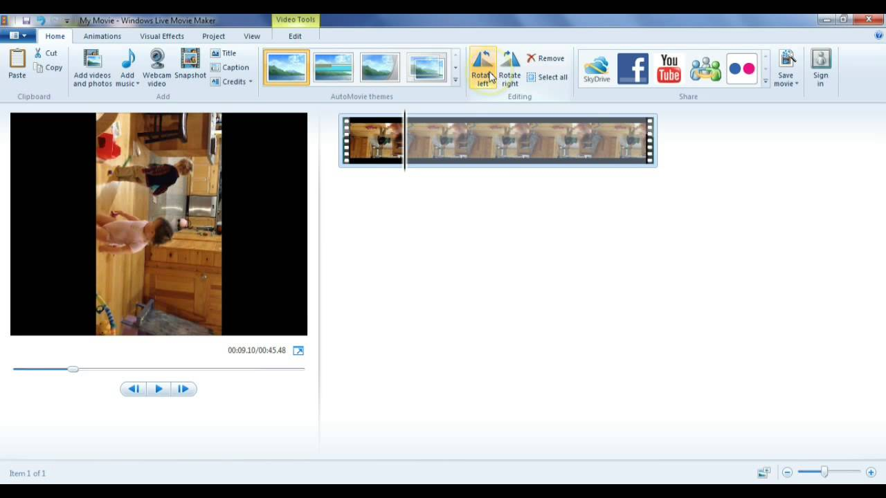 How to rotate a video to the right angle you want leawo tutorial rotate a video 10g ccuart Image collections