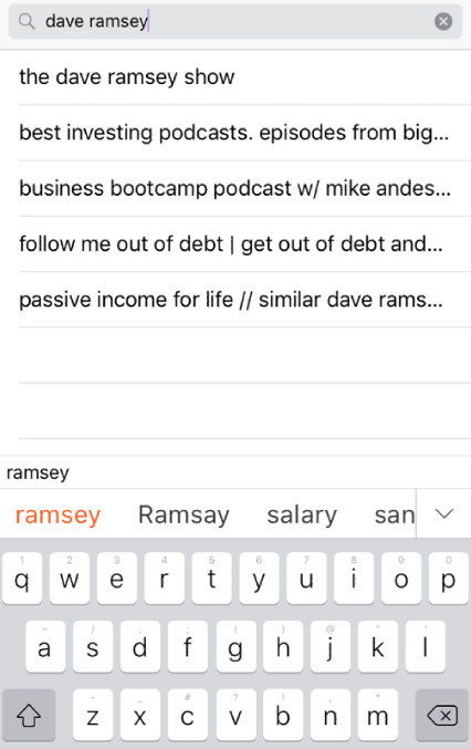 search-dave-ramsey-podcast