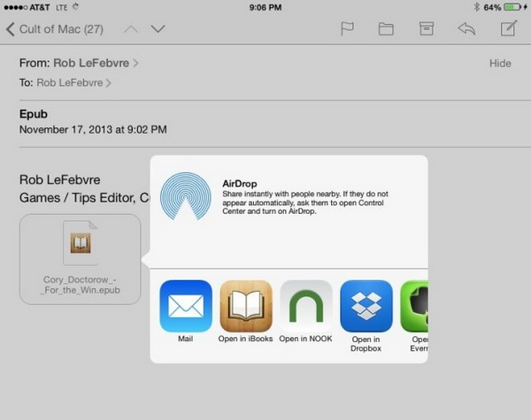 transfer-epub-to-ipad-via-email
