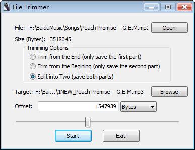 File Trimmer