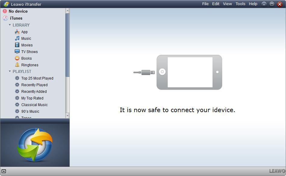 How to Transfer Camcorder Videos from PC to iPad with Leawo iTransfer-01