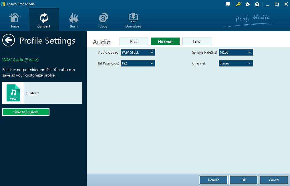 Three Methods to Convert MP3 to WAV Effectively | Leawo