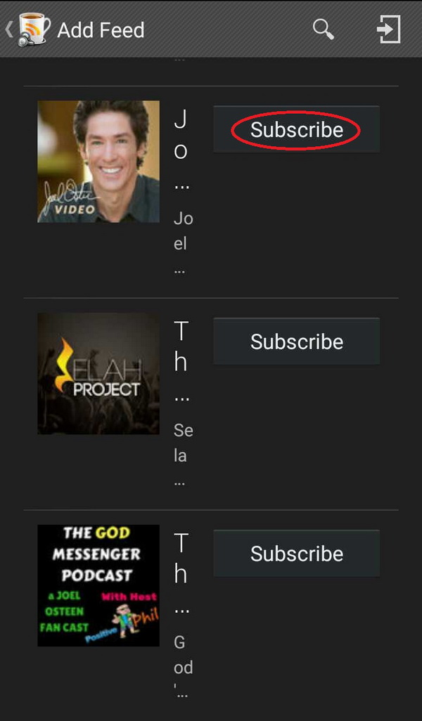 subscribe Joel Osteen Podcast