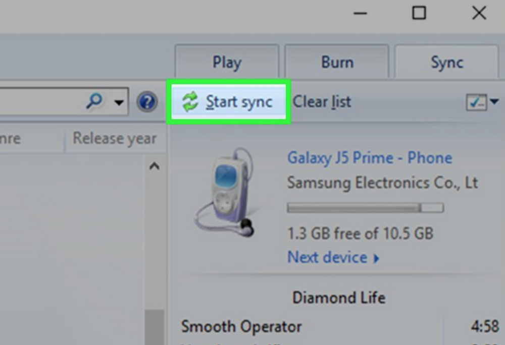 how-to-download-music-to-Samsung-with-Windows-Media-Player-03
