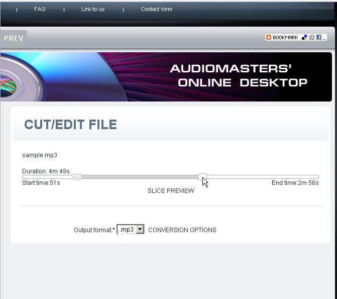 Cut/Edit sound