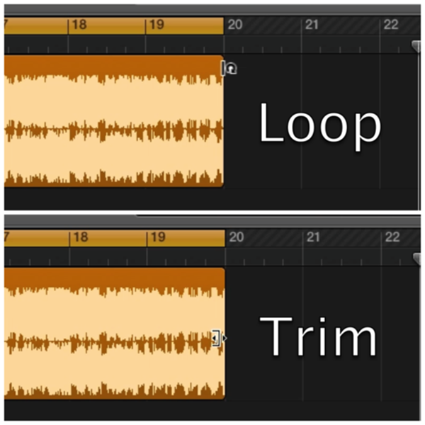 loop and trim