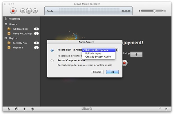 how-to-record-streaming-audio-mac-with-Leawo-Music-Recorder-03