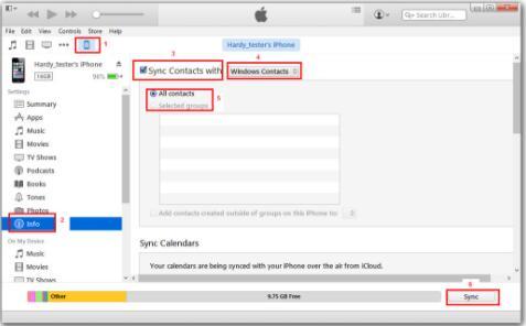 transfer-contacts-via-iTunes1