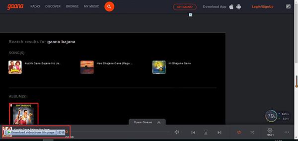 download-gaana-bajana-music-with-idm