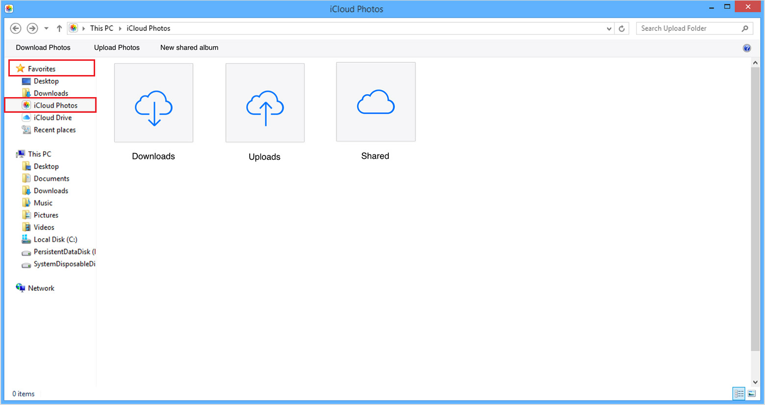 download icloud drive on windows