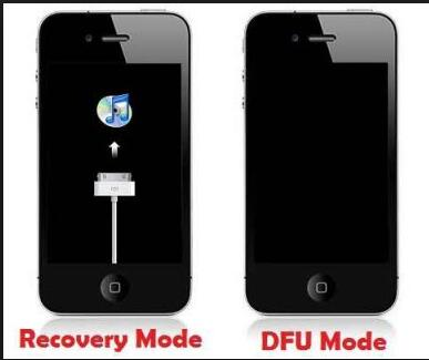 Put iPhone into DFU mode