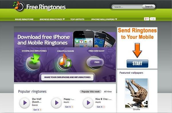 Free ringtones iphone