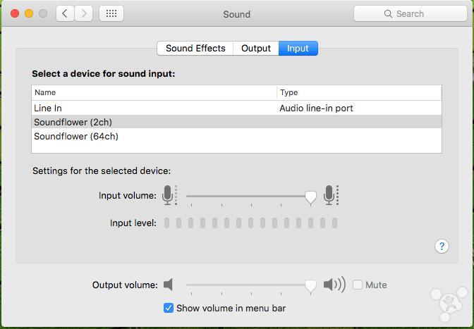 Capture Audio From Website on Mac with garageband