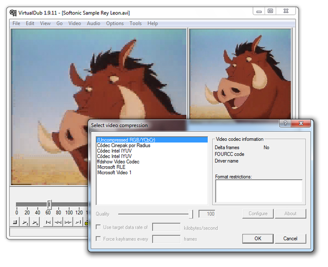 convert 8mm file to dvd
